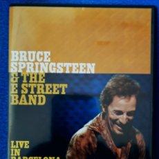 Vídeos y DVD Musicales: BRUCE SPRINGTEEN - LIVE IN BARCELONA. Lote 195474771