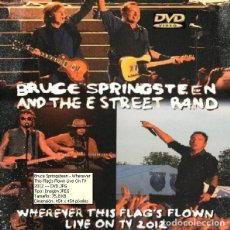 Vídeos y DVD Musicales: BRUCE SPRINGSTEEN - WHEREVER THIS FLAG'S FLOWN LIVE ON TV 2012 (DVD). Lote 195606775