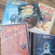 Vídeos y DVD Musicales: LOTE AC DC VHS CD MÚSICA DIRECTO HEAVY ROCK METAL. Lote 195634360