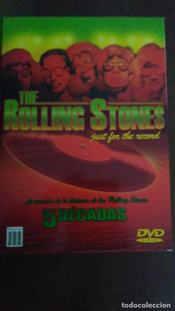 THE ROLLING STONES JUST FOR THE RECORD - CAJA DE 4 DVDS (Música - Videos y DVD Musicales)