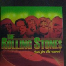 Vídeos y DVD Musicales: THE ROLLING STONES JUST FOR THE RECORD - CAJA DE 4 DVDS. Lote 195749946