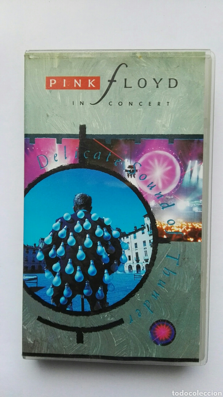 PINK FLOYD IN CONCERT VHS (Música - Videos y DVD Musicales)