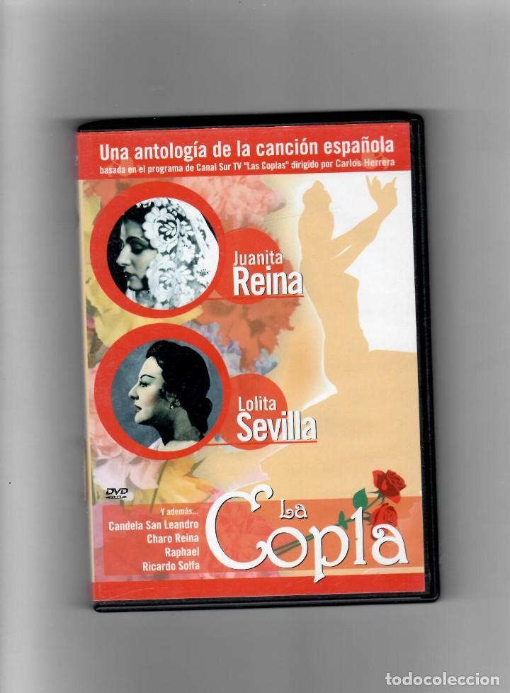 COPLA JUANITA REINA- LOLITA SEVILLA -UNA ANTOLOGÍA DE LA CANCIÓN ESPAÑOLA, COMO NUEVO (Música - Videos y DVD Musicales)