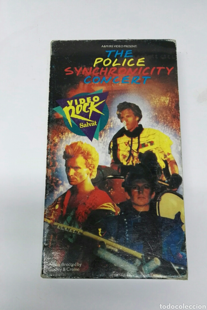 THE POLICE SYNCHRONICITY CONCERT VHS (Música - Videos y DVD Musicales)