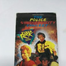 Vídeos y DVD Musicales: THE POLICE SYNCHRONICITY CONCERT VHS. Lote 195918563