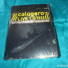 Vídeos y DVD Musicales: CALOGERO. LIVE 1.0. 2 DVD´S. LIMITED EDITION. IMPECABLE (#). Lote 196297481