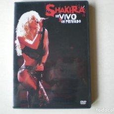 Vídeos e DVD Musicais: SHAKIRA - EN VIVO Y EN PRIVADO - CD Y DVD . Lote 196747978