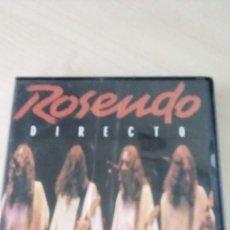 Vidéos y DVD Musicaux: DVD ROSENDO . Lote 197117568
