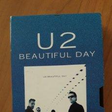 Vídeos y DVD Musicales: VHS Y SU DIGITALIZACIÓN U2 MAKING OF BEAUTIFUL DAY. VER DESCRIPCIÓN. Lote 197186052