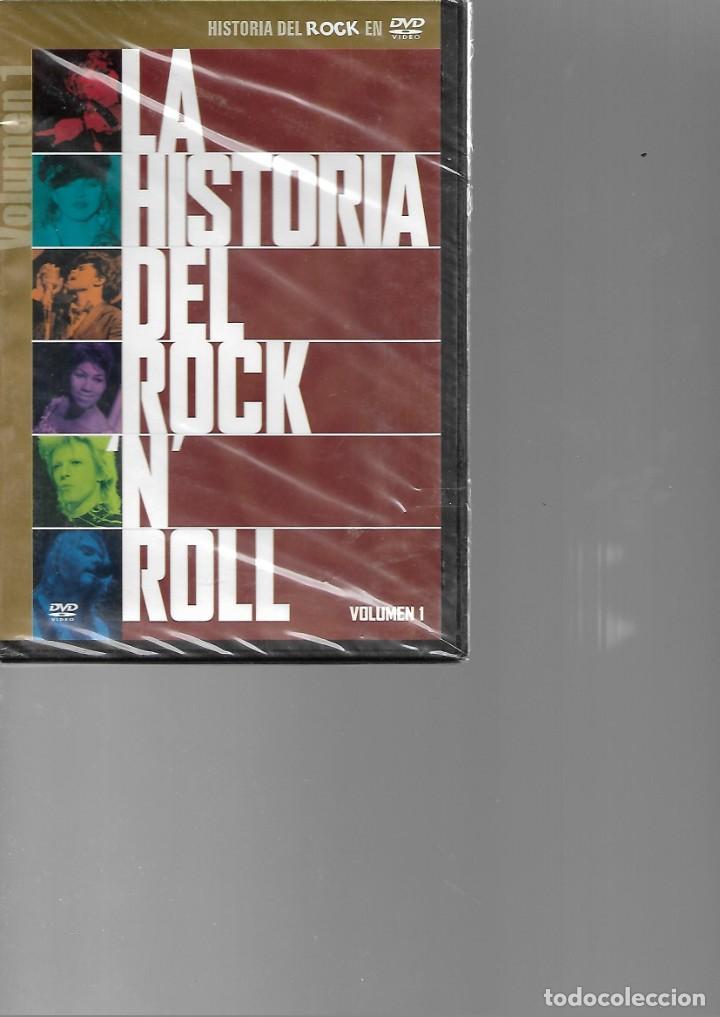 DVD PRECINTADO LA HISTORIA DEL ROCK N ROLL (Música - Videos y DVD Musicales)