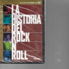 Vídeos y DVD Musicales: DVD PRECINTADO LA HISTORIA DEL ROCK N ROLL . Lote 197723336