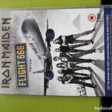 Vidéos y DVD Musicaux: IRON MAIDEN - FLIGHT 666 - THE FILM - 2 DVD - 2009 - COMPRA MÍNIMA 3 EUROS. Lote 197760487