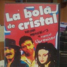 Vídeos y DVD Musicales: LA BOLA DE CRISTAL EDICION ESPECIAL N 3 +ESPECIAL LIBROVISOR DVD PEPETO. Lote 197769802