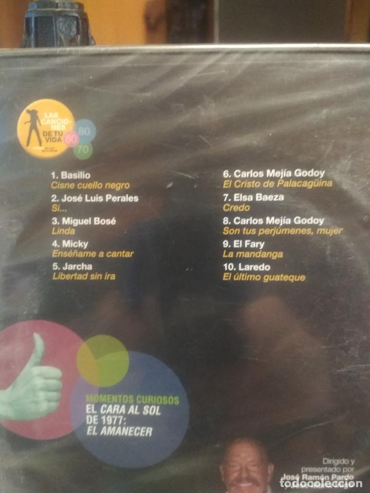 Vídeos y DVD Musicales: LAS CANCIONES DE TU VIDA 1877 (2) DVD PRECINTADO BASILIO - MICKY- EL FARY ETC PEPETO - Foto 2 - 197771168