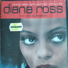 Vídeos y DVD Musicales: DIANA ROSS-PARIS 1968 BROADCAST ARCHIVES. Lote 207136420