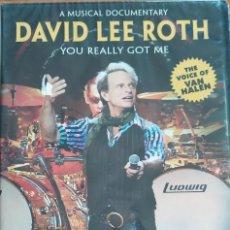 Vídeos e DVD Musicais: DAVID LEE ROTH-YOU REALLY GOT ME. Lote 198321426