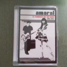 Vídeos y DVD Musicales: DVD AMARAL EL COMIENZO DEL BIG BANG GIRA 2005. Lote 198414462