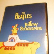 Vídeos y DVD Musicales: DVD THE BEATLES. YELOW SUBMARINE.90 MIN CON INSERTO (SEMINUEVO) . Lote 198864057