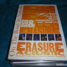 Vídeos e DVD Musicais: ERASURE. ON THE ROAD TO NASHVILLE. DVD. IMPECABLE (#). Lote 198933240