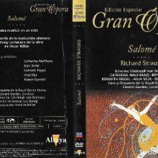 Vidéos y DVD Musicaux: SALOMÉ - RICHARD STRAUSS - EDICIÓN ESPECIAL GRAN ÓPERA. Lote 199173212