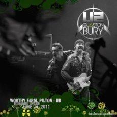 Video e DVD Musicali: U2 - LIVE GLASTONBURY FESTIVAL 2011 (DOBLE DVD). Lote 236741730