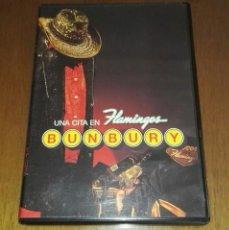 Vídeos y DVD Musicales: ENRIQUE BUNBURY UNA CITA EN FLAMINGOS BUNBURY DVD. Lote 199409920