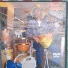 Vídeos y DVD Musicales: RITMOS DO BRASIL E OS SEUS INSTRUMENTOS - DINHO GONÇALVES (APRENDAMUSICA) /// ED. BRASIL ORIGINAL. Lote 199504206