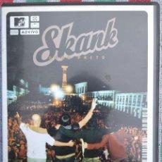 Vídeos y DVD Musicales: SKANK - OURO PRETO, MTV AO VIVO (SONY MUSIC, 2001) /// ED. BRASIL ORIGINAL, RARO /// SAMBA AXÉ FORRÓ. Lote 199504653