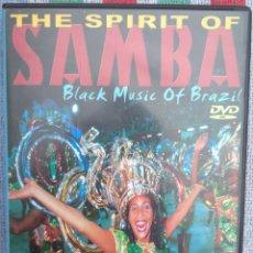 Vídeos y DVD Musicales: THE SPIRIT OF SAMBA - BLACK MUSIC OF BRASIL (SHANACHIE, 2000) /// ED. BRASIL ORIGINAL, RARO . Lote 199505092