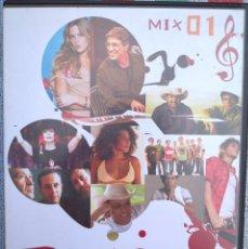 Vídeos y DVD Musicales: TODOS OS SONS NUM MIX SORPRENDENTE - MIX 01 (EMI, 2005) /// ED. BRASIL ORIGINAL, RARO /// SAMBA AXÉ . Lote 199505527
