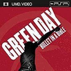 Vídeos y DVD Musicales: GREEN DAY: BULLET IN A BIBLE - UMD VIDEO PSP. DESCATALOGADO NUEVO SIN ABRIR. Lote 199576772