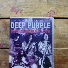 Vídeos y DVD Musicales: DVD CONCIERTO DEEP PURPLE. Lote 199720875