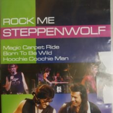 Vídeos y DVD Musicales: ROCK ME STEPPENWOLF. Lote 200086465