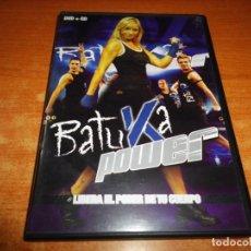 Vídeos y DVD Musicales: BATUKA POWER LIBERA EL PODER DE TU CUERPO CD + DVD DEL AÑO 2006 JESSICA EXPOSITO . Lote 200390547