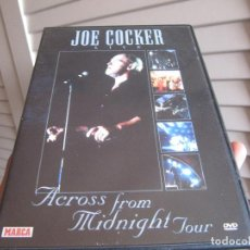 Vídeos y DVD Musicales: JOE COCKER, LIVE, ACROSS FROM MIDNIGHT TOUR, BERLIN. Lote 200835433