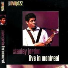 Vídeos y DVD Musicales: THIS IS DVD JAZZ. STANLEY JORDAN. LIVE IN MONTREAL.. Lote 201617856