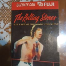 Vídeos y DVD Musicales: THE ROLLING STONES. LET'S SPEND THE NIGHT TOGETHER. EN VHS. Lote 202299202