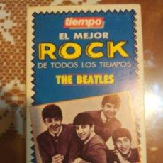 Vídeos y DVD Musicales: THE BEATLES EL MEJOR ROCK DE TODOS LOS TIEMPOS EN VHS. Lote 202299365
