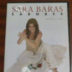 Vídeos e DVD Musicais: DVD - SARA BARAS - SABORES - FLAMENCO - PRECINTADO. Lote 202446477