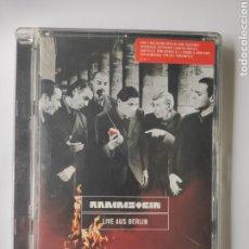 Vídeos e DVD Musicais: RAMMSTEIN LIVE AUS BERLIN DVD. Lote 202633121