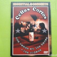 Vídeos y DVD Musicales: CELTAS CORTOS - NOS VEMOS EN LOS BARES + LOS VÍDEOS - 2009 - COMPRA MÍNIMA 3 EUROS. Lote 202787397