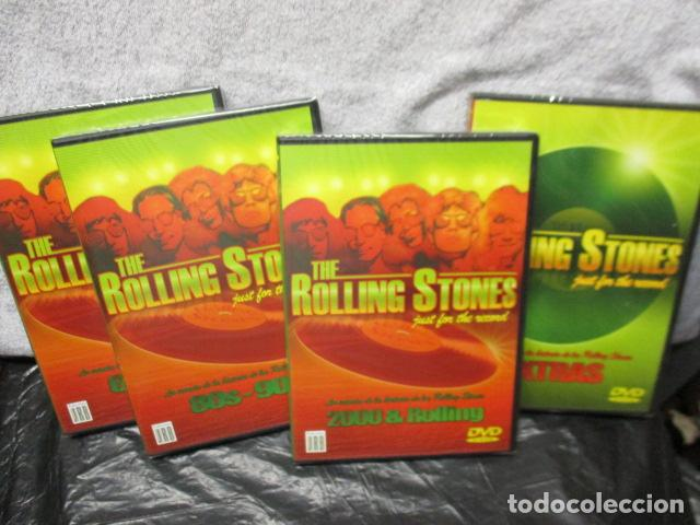 Vídeos y DVD Musicales: THE ROLLING STONES:(JUST FOR THE RECORD-5 DÉCADAS)-(4 DVD PACK-420 MINUTOS) PRECINTADOS - Foto 7 - 202858576