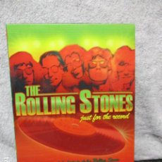 Vídeos y DVD Musicales: THE ROLLING STONES:(JUST FOR THE RECORD-5 DÉCADAS)-(4 DVD PACK-420 MINUTOS) PRECINTADOS. Lote 202858576