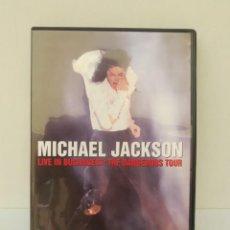 Vídeos y DVD Musicales: DVD -MICHAEL JACKSON – LIVE IN BUCHAREST: THE DANGEROUS TOUR .. Lote 203387970