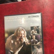 Vídeos e DVD Musicais: 2 DVD DE LA OREJA DE VAN GOGH EN DIRECTO. Lote 203882220