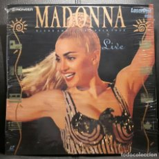 Vídeos y DVD Musicales: MADONNA - BLOND AMBITION WORLD TOUR LIVE - LASER DISC - MUY RARO - SISTEMA PAL - EXCELENTE. Lote 203889550