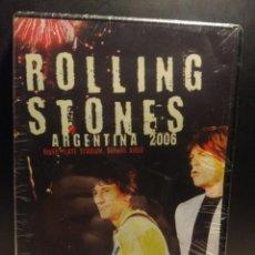 Vídeos y DVD Musicales: DVD COMPLETAMENTE NUEVO : THE ROLLING STONES - ARGENTINA 2006 LIVE. Lote 204095706