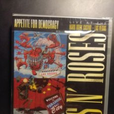 Vídeos y DVD Musicales: DVD GUNS N´ ROSES - APPETITE FOR DEMOCRACY - LIVE AT THE HARD ROCK CASINO LAS VEGAS. Lote 204172846