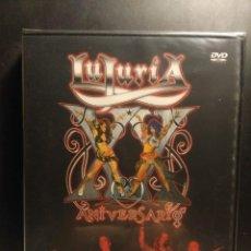 Vídeos y DVD Musicales: DVD LUJURIA - XX AÑOS DE LUJURIA PARA EL MUNDO - DIRECTO. Lote 204174168
