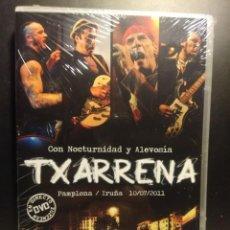 Vídeos y DVD Musicales: DVD TXARRENA - CON NOCTURNIDAD Y ALEVOSIA ( PAMPLONA, IRUÑÁ, 2011). Lote 204174726